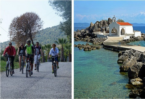 Cycling Tours with Uli - Chios Island, Greece