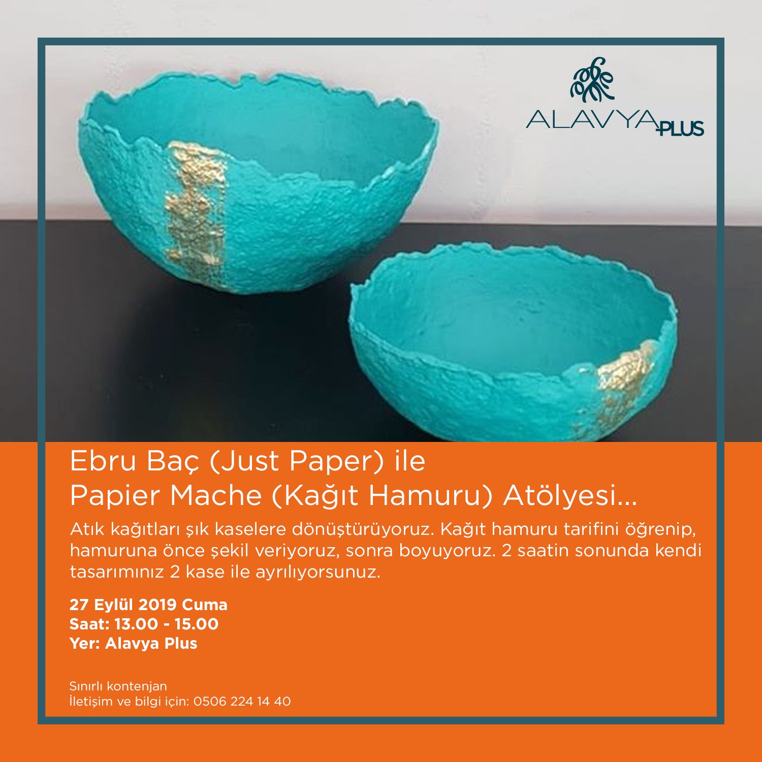 JUST PAPER Atelier with Ebru Baç