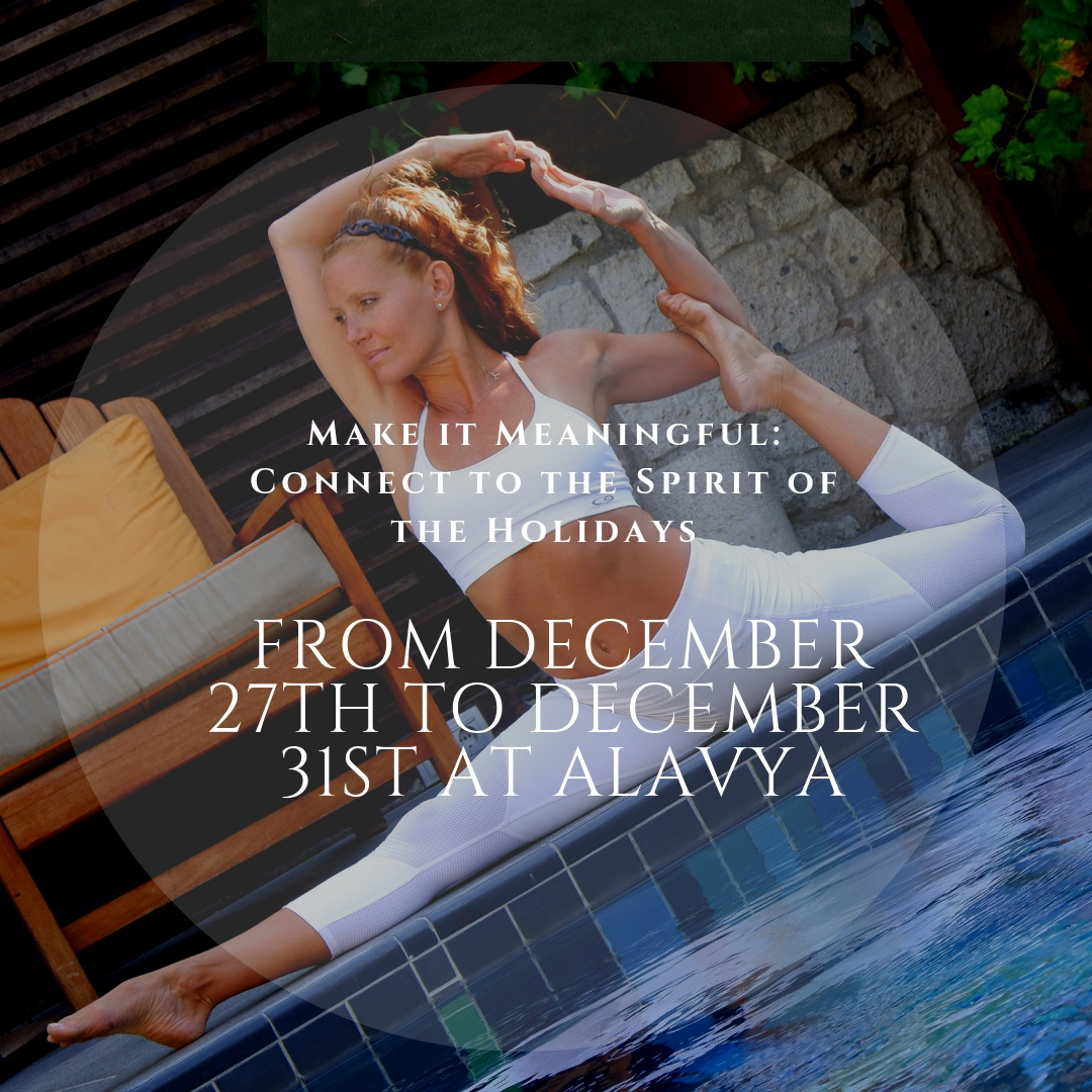 New Year Yoga with Alexis between 27-31 December at Alavya