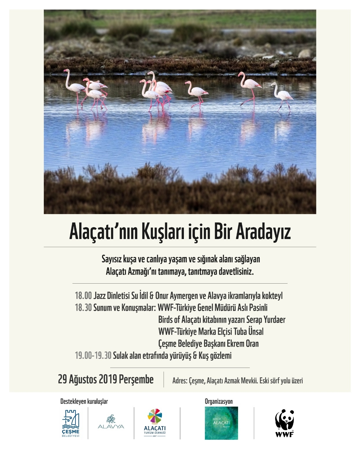 We Are Together For Alacati Birds