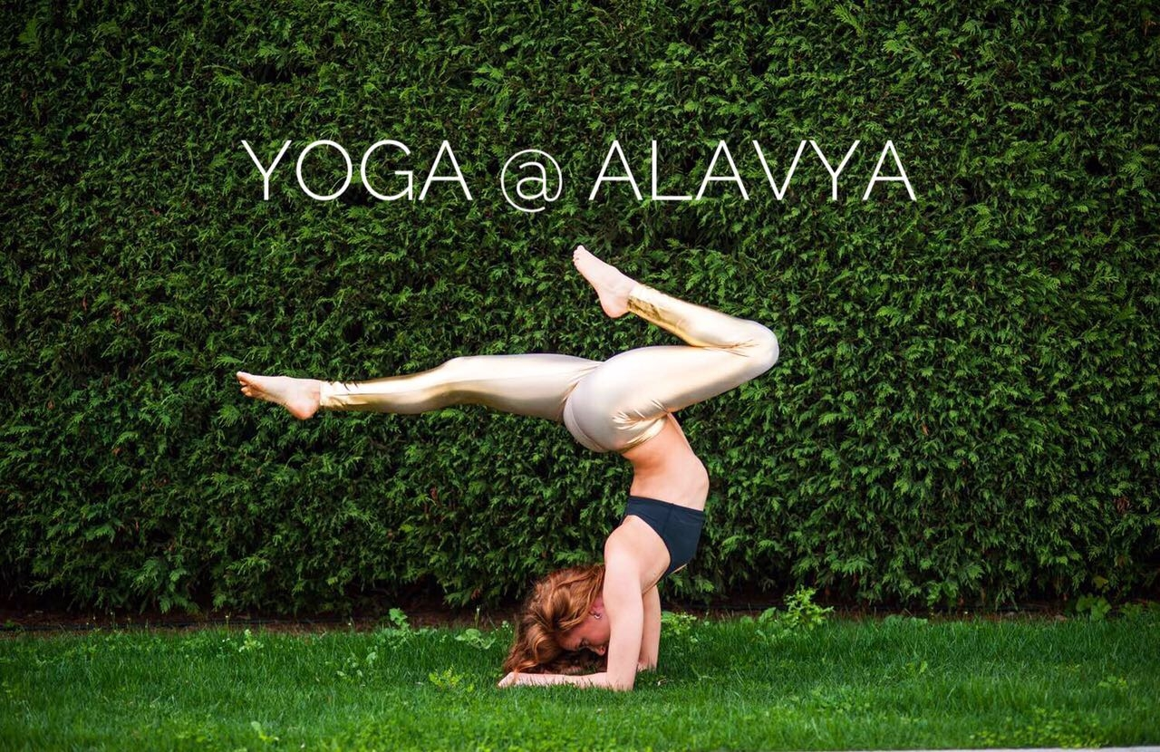 Yoga with Alexis Gulliver at Alavya